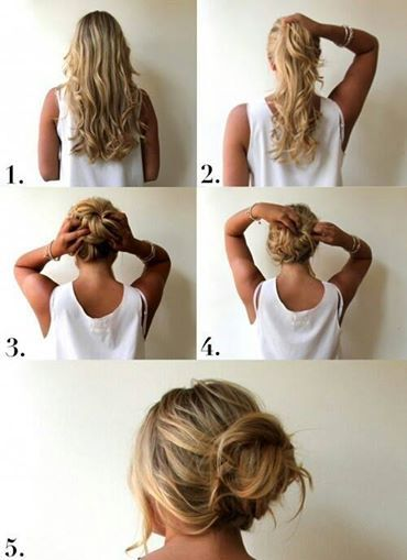 Messy Bun – In under 3 minutes