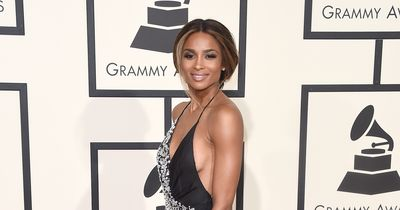 Ciara with the super hot red carpet style!