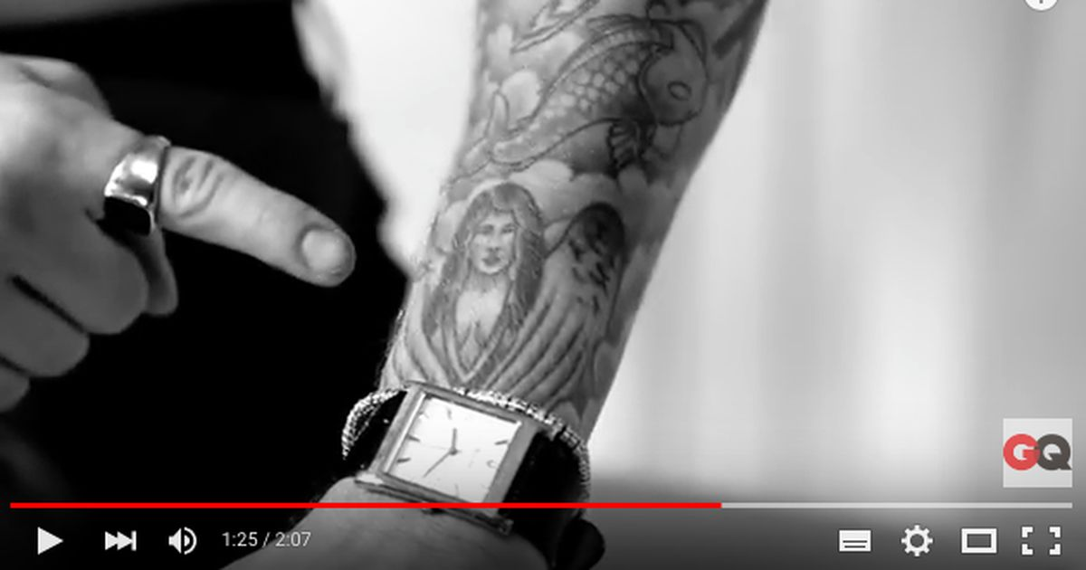 Justin Bieber Gives the Story Behind His Tattoos