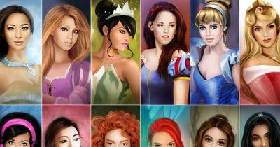 Which Disney Princess Do You Look Like?