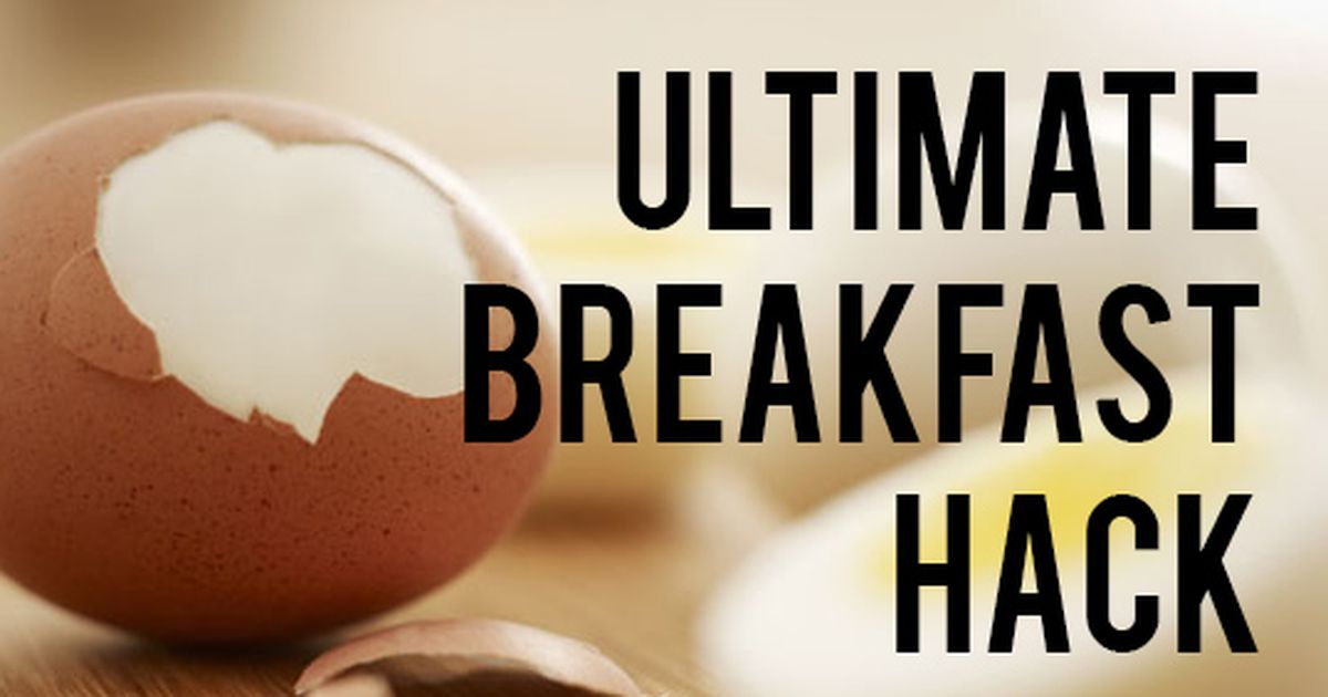 You've been peeling hardboiled eggs wrong your whole life!