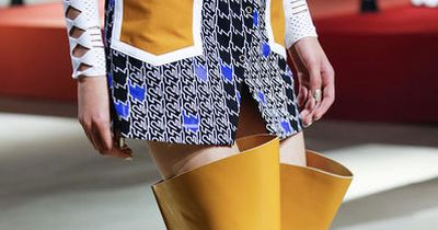 You won't believe these shoes made it onto the runway!