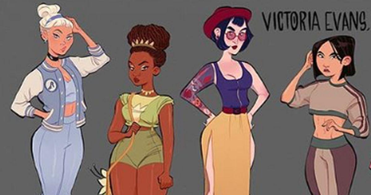 Disney princesses have never been so badass
