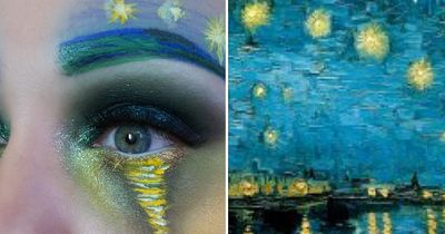 This makeup artist is recreating famous paintings and the outcome is incredible!