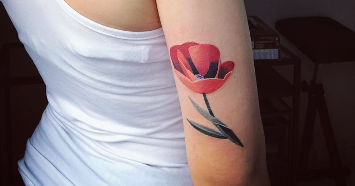 You're going to fall in love with these 16 floral tattoos