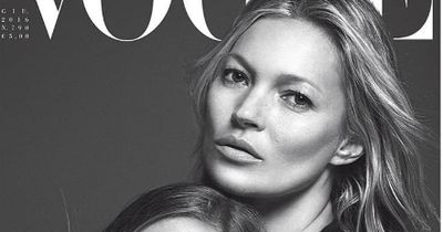 Kate Moss' daughter just stole the show on her first Vogue cover