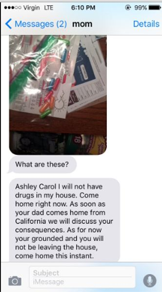 Mom thought she found drugs in her teenage daughter's room but she was so wrong