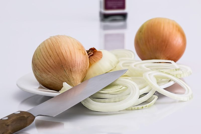 How to cut an onion WITHOUT CRYING!