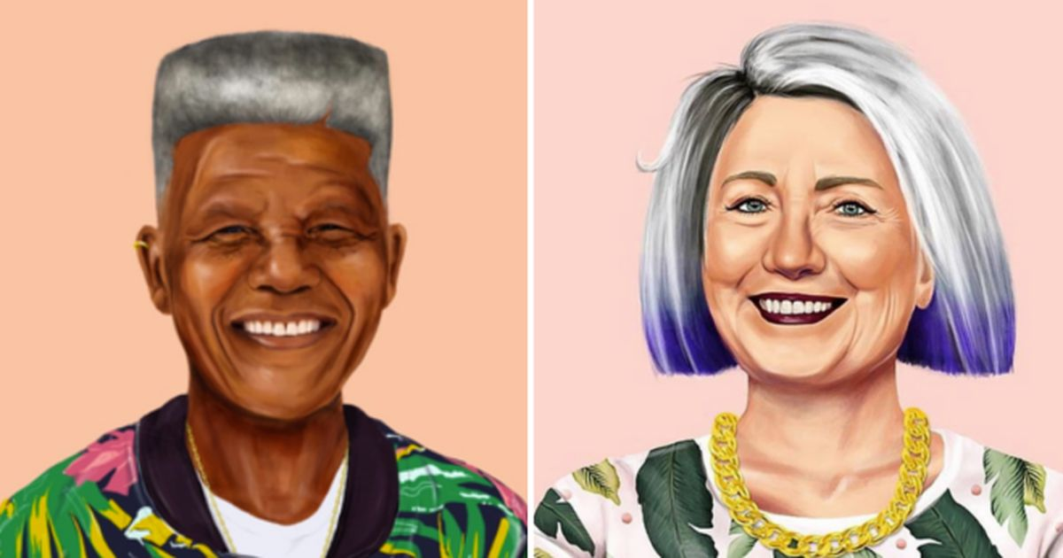 World leaders are turned into hipsters through this guy's artwork