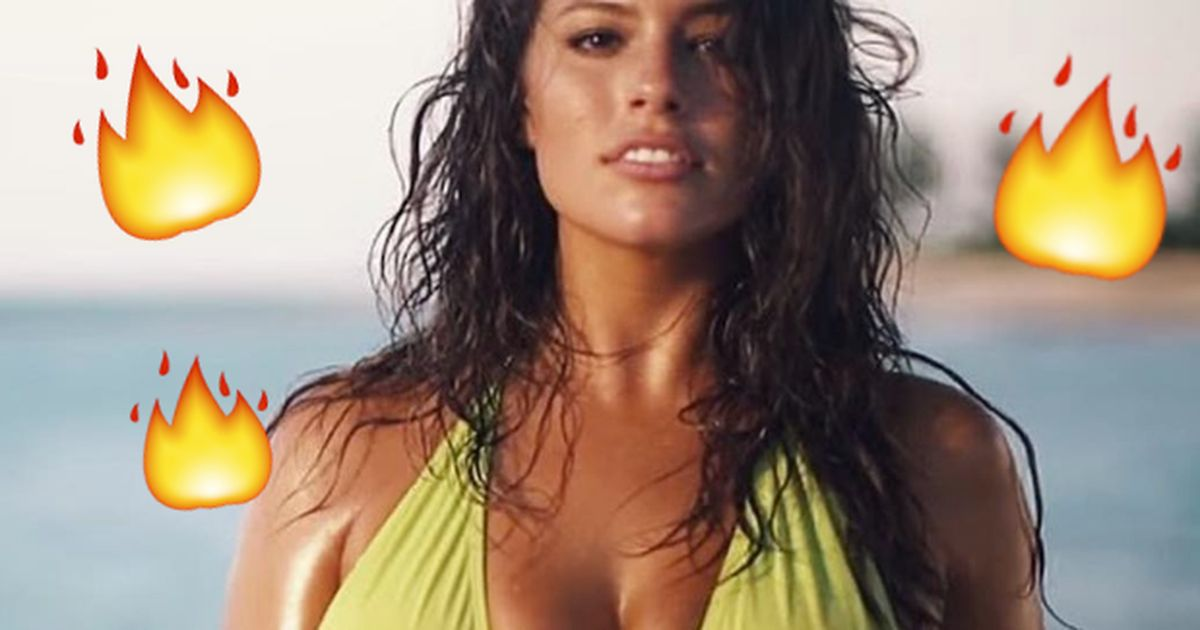 This is how Ashley Graham dealt with haters who said her legs were 'cellulite city'