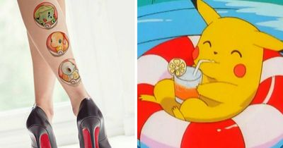 These girly Pokemon tattoos are what every 90s baby needs!