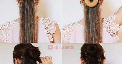 This braided bun is the hairstyle upgrade every girl needs!
