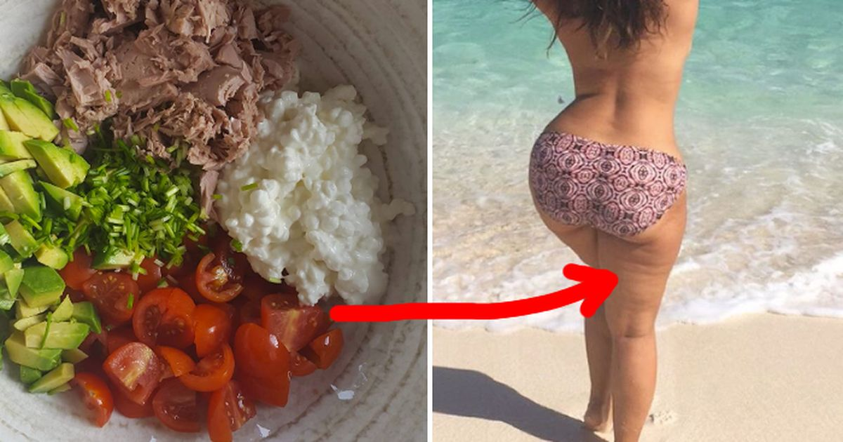These 4 'healthy' foods actually cause cellulite!
