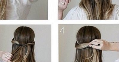 Here's the miracle 2-minute hairstyle for girls on the go!