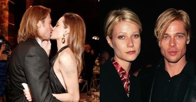 We Just Realised That Brad Pitt Always Looks Like Whoever He's Dating