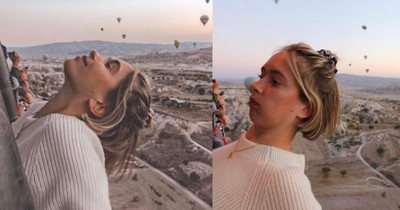 "Influencer Rianne Meijer reveals how fake ""perfect"" pictures are"