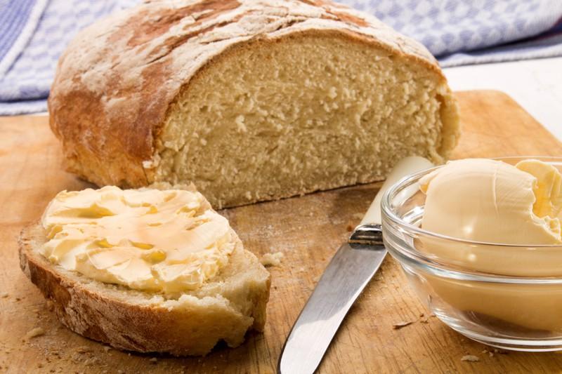 In Delaware, you should always serve butter, not margarine.
