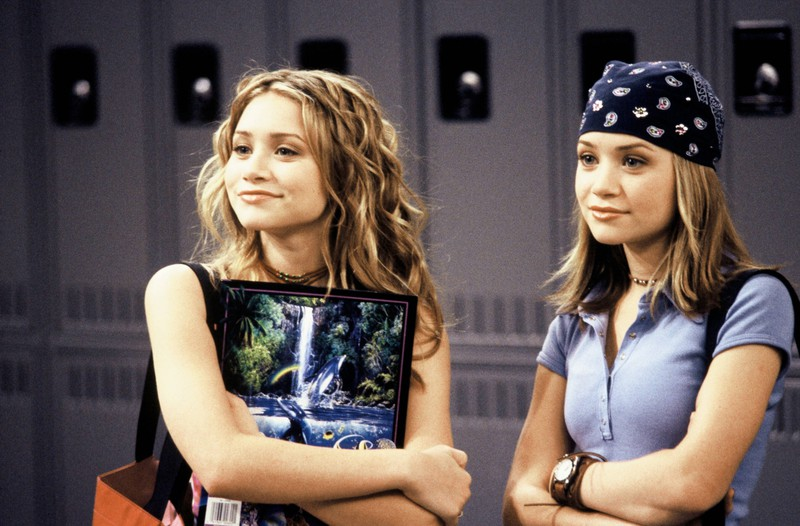 The Olsen Twins were extremely popular in the 2000s.