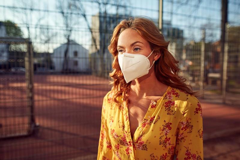 FFP2 masks offer more protection than cloth masks.