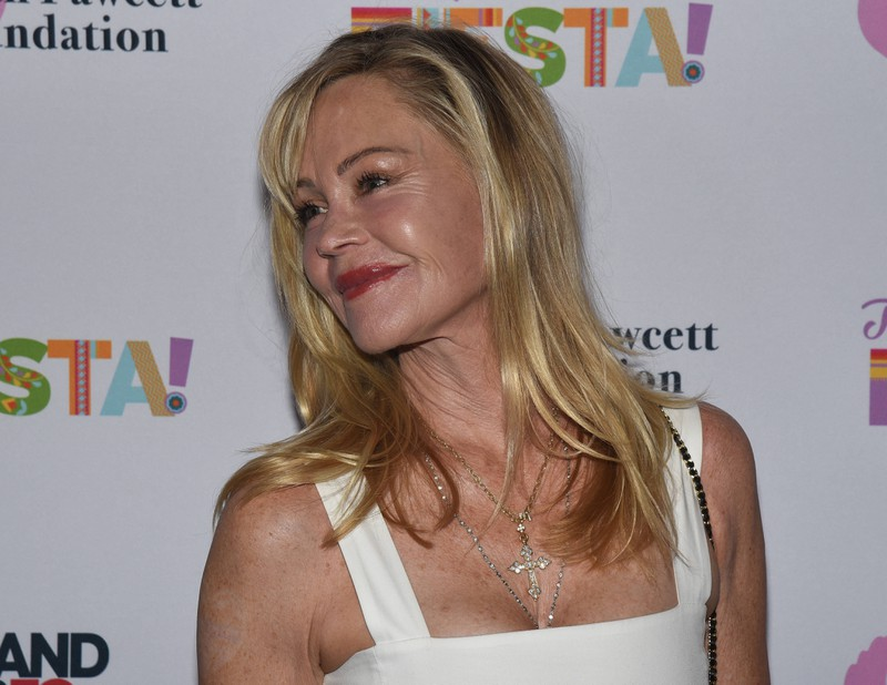 Melanie Griffith didn't want to age and went to the beauty doc.