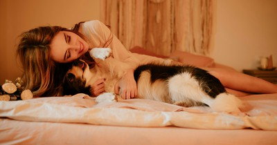 Here's Why You Shouldn't Share Your Bed With Your Pet