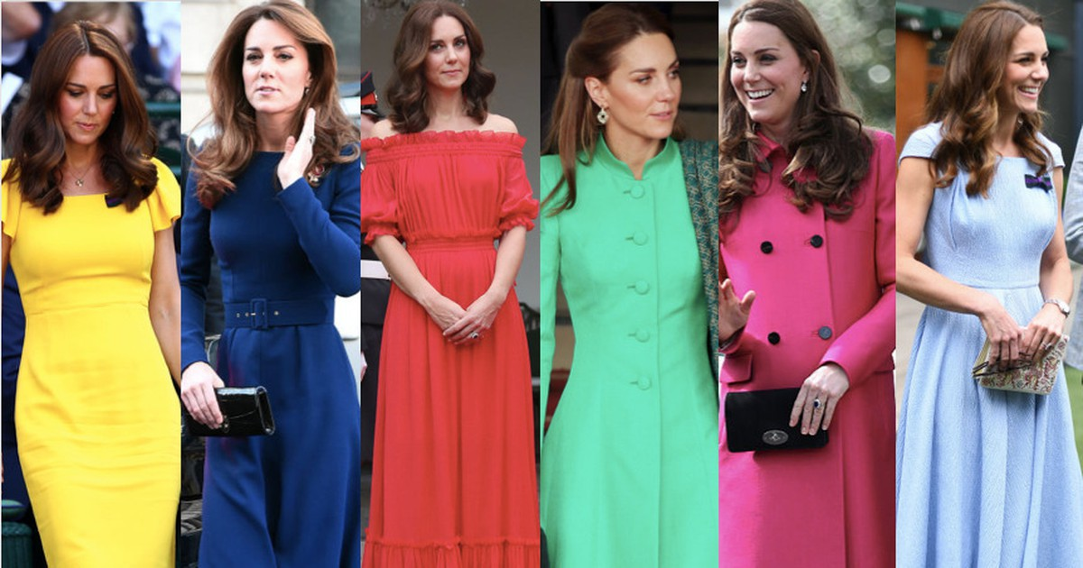 Kate Middleton's Outfits: Why Does She Never Wear Orange?