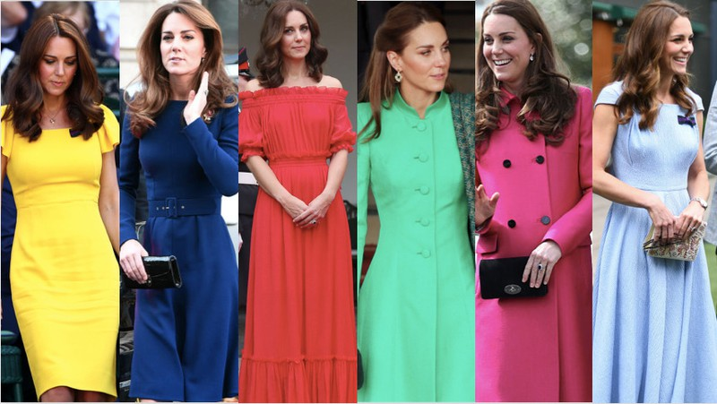 Kate Middleton has been spotted in almost every color, but orange.