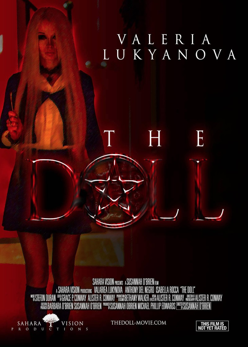 "The real-life Barbie Valeria played a role in the horror movie ""The Doll""."
