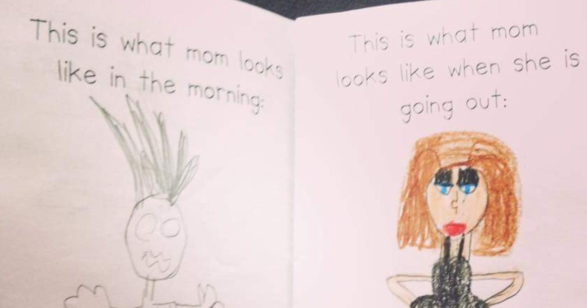 10 Children's Drawings That Are Way Too Honest
