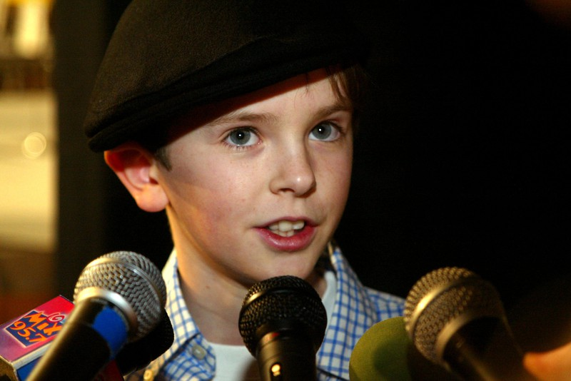Freddie Highmore was very popular as a child star.