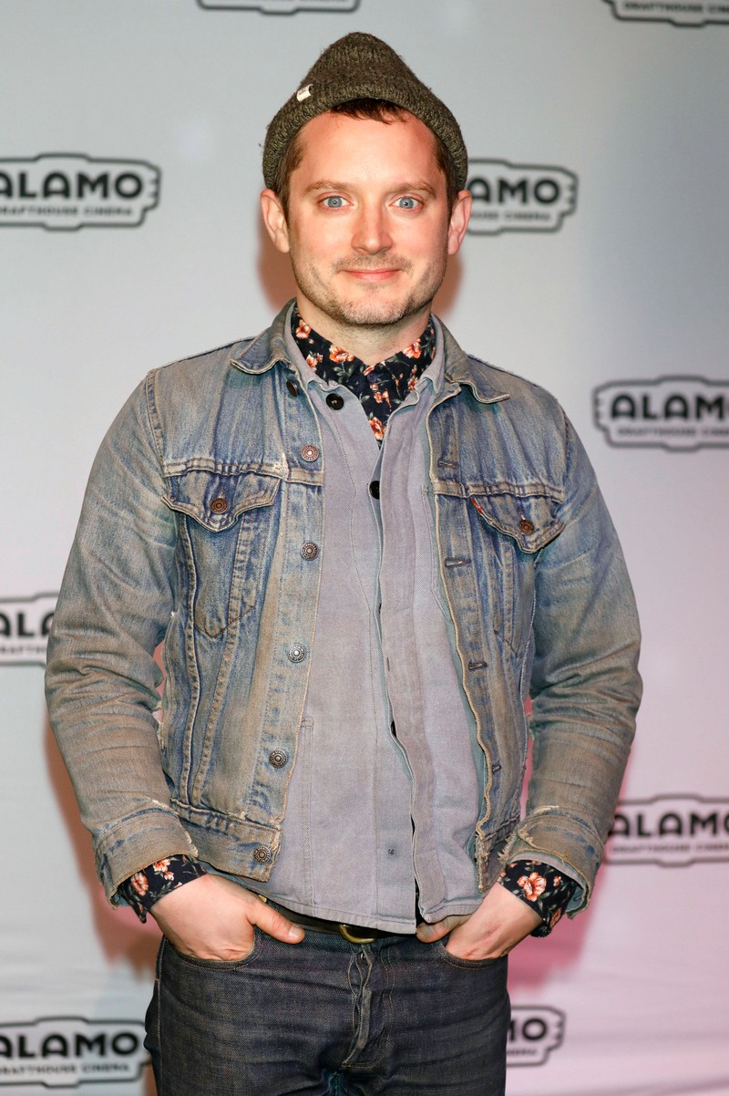 "Of course we know Elijah Wood from his role in ""The Lord of the Rings""."