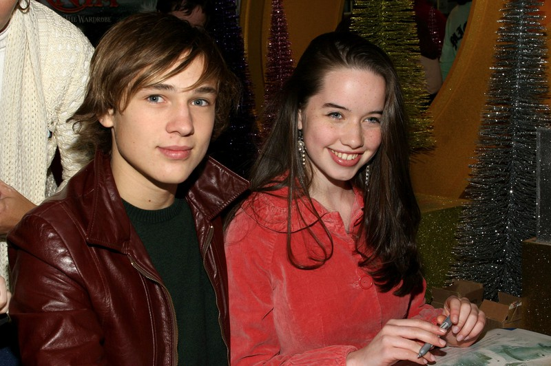 "William Moseley also rose to fame through ""Narnia"" as a teenager."