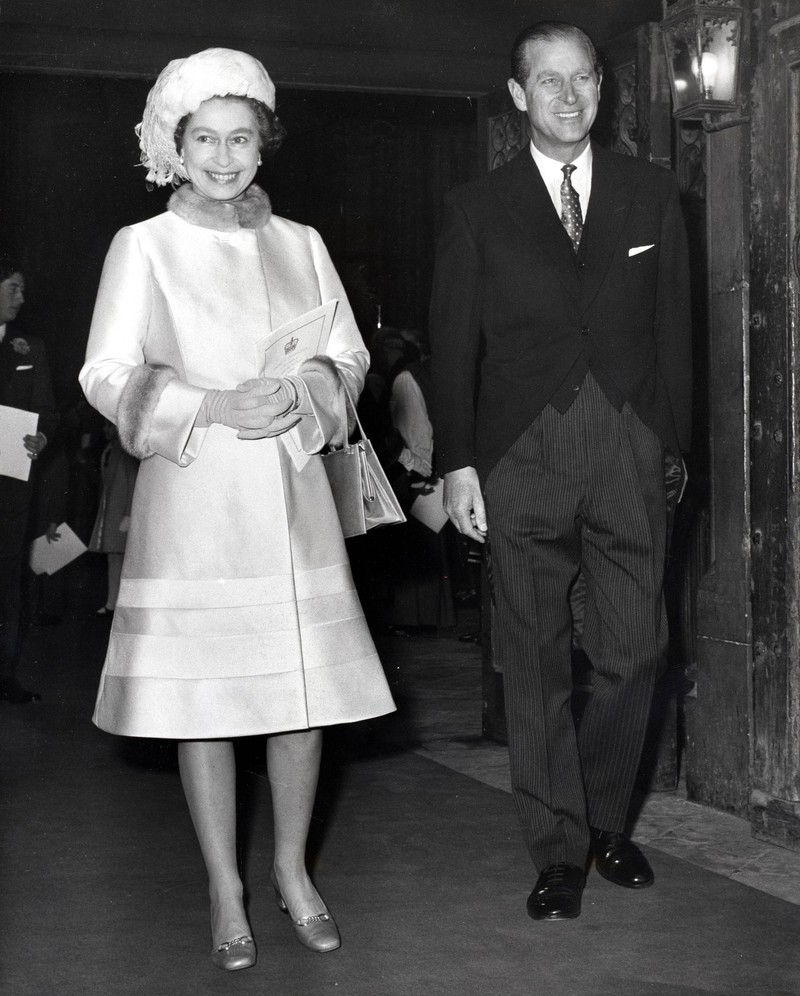 Queen Elizabeth lost her father when he was only 56 years old.