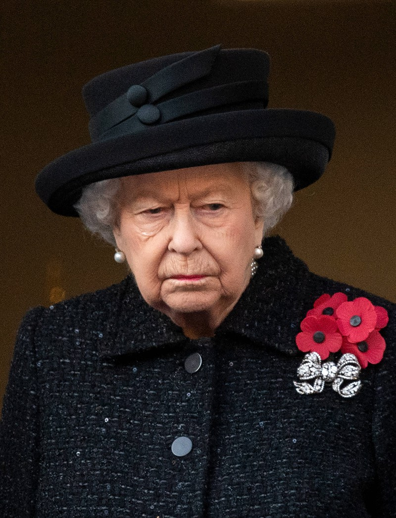 The Queen enters a period of mourning for 8 days.