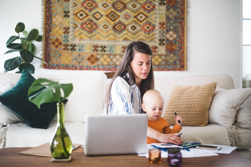 It can be tough for women to be a working mom.