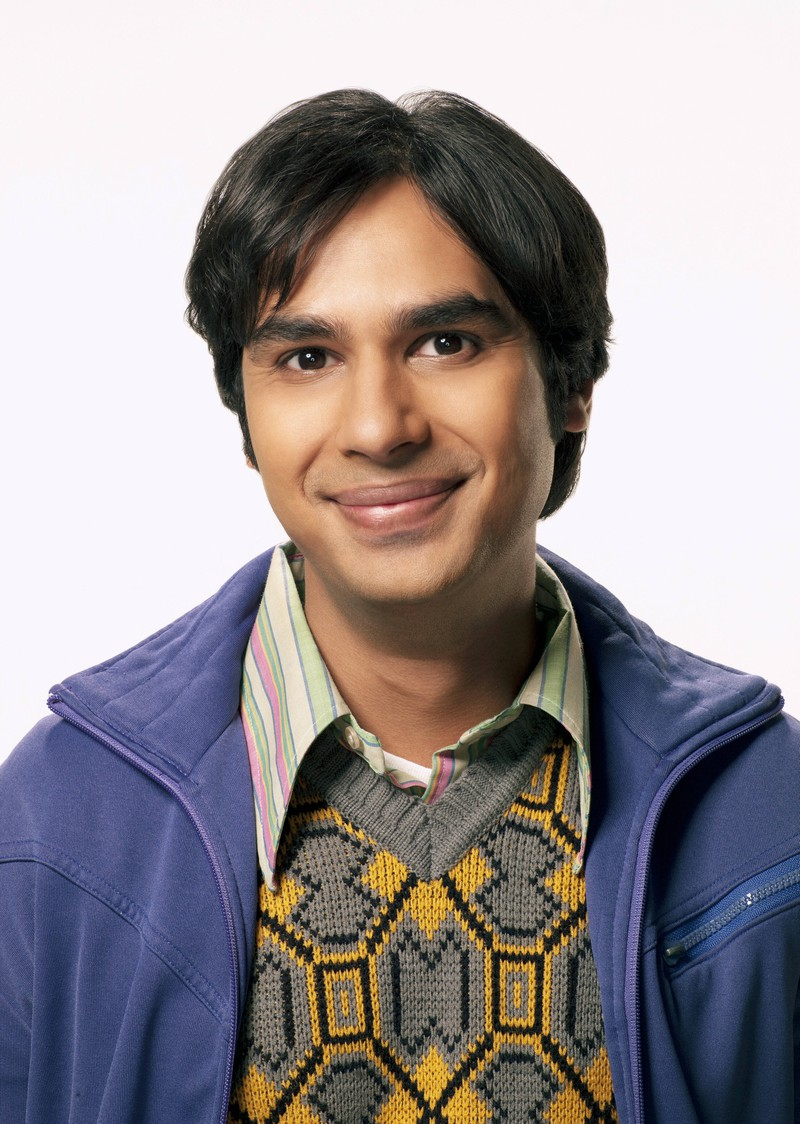"""Raj is the shy one in """"The Big Bang Theory""""."""