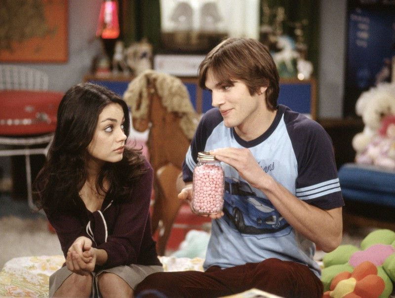 "Although Ashton Kutcher and Mila Kunis didn't like each other in ""That 70s Show"", they did end up together later."