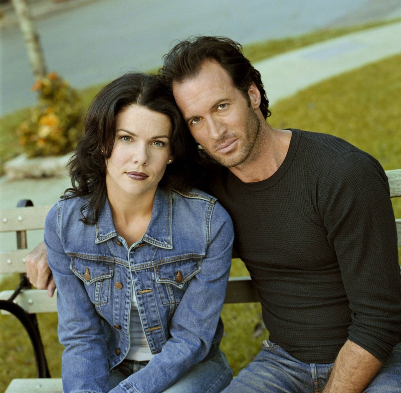 "Luke and Lorelai from ""Gilmore Girls"" apparently weren't as close in real life."