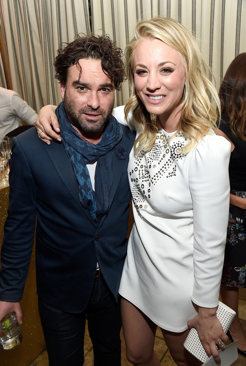 On screen, Kaley Cuoco and Johnny Galecki were a couple and also in real life - but not for long.