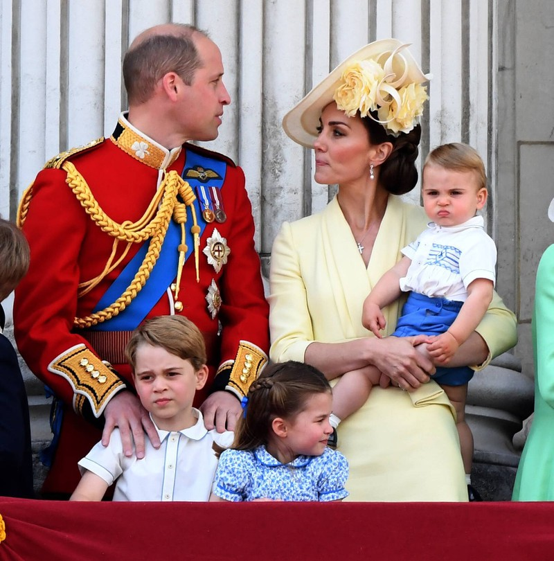 Prince William and Duchess Kate with their kids, Charlotte, George and Louis.