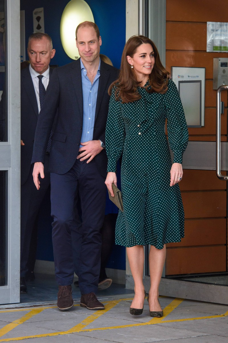 William and Kate are rarely seen holding hands in public.