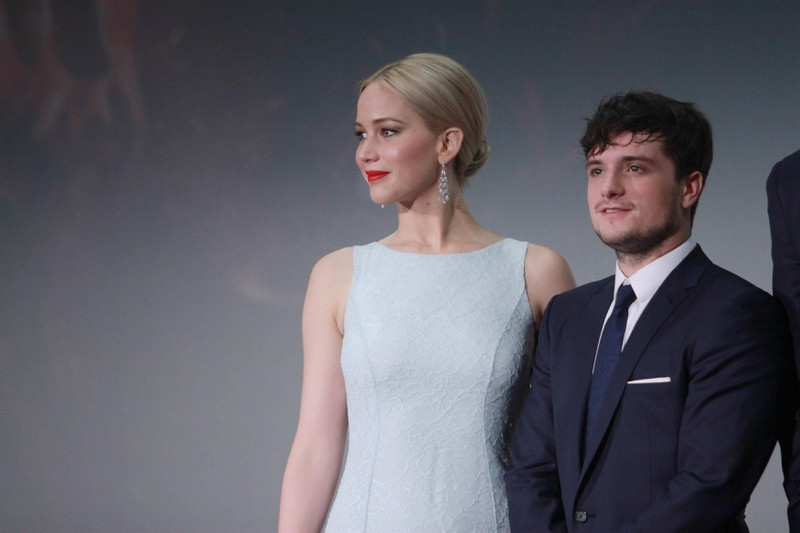 "Jennifer Lawrence and Josh Hutcherson did kiss each other in ,,The Hunger Games"" but Josh didn't like it."