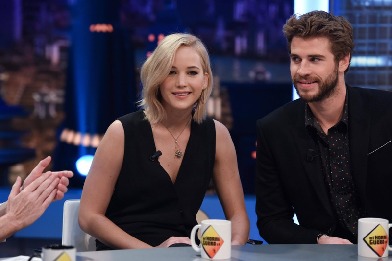 Liam Hemsworth did not like kissing Jennifer Lawrence as well.