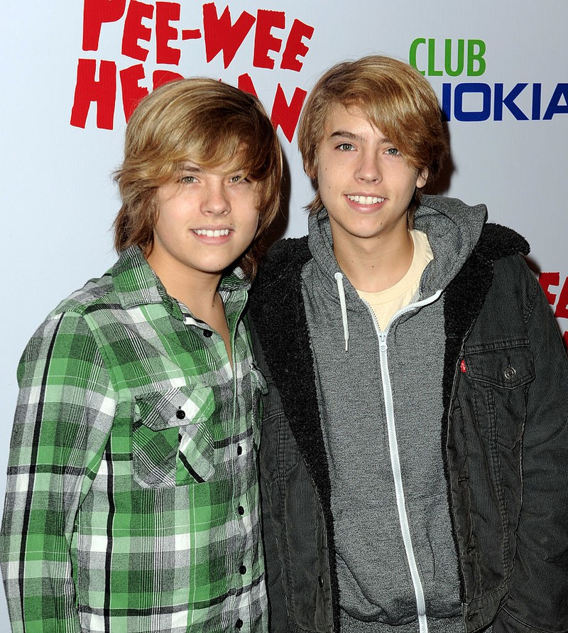 The twins Dylan & Cole Sprouse were only kids back in 2010.