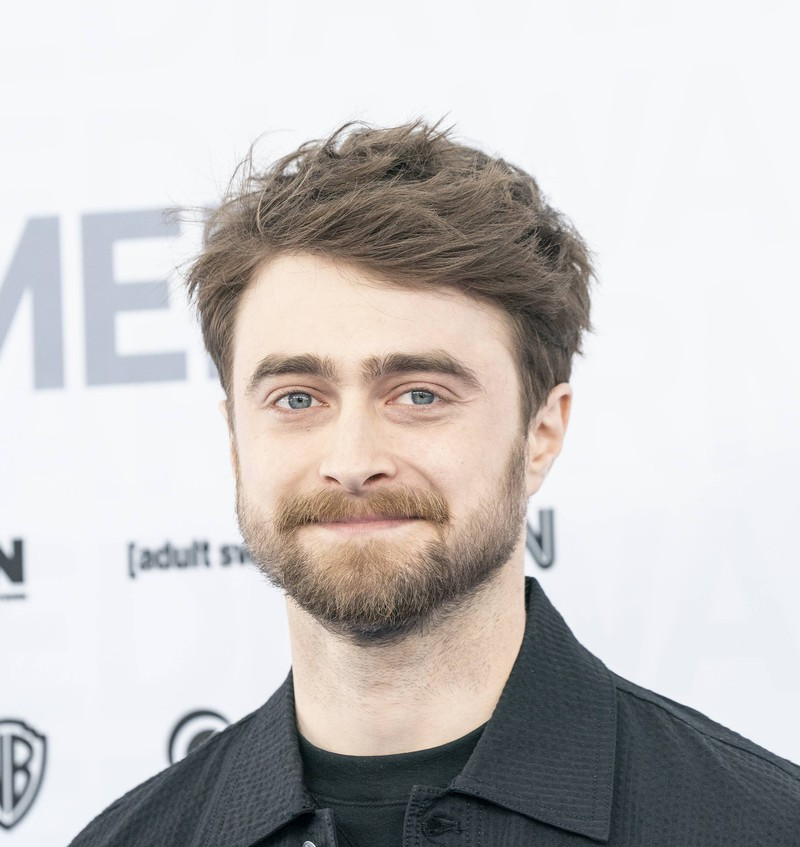 Daniel Radcliffe could be a twin of the boy on the right.