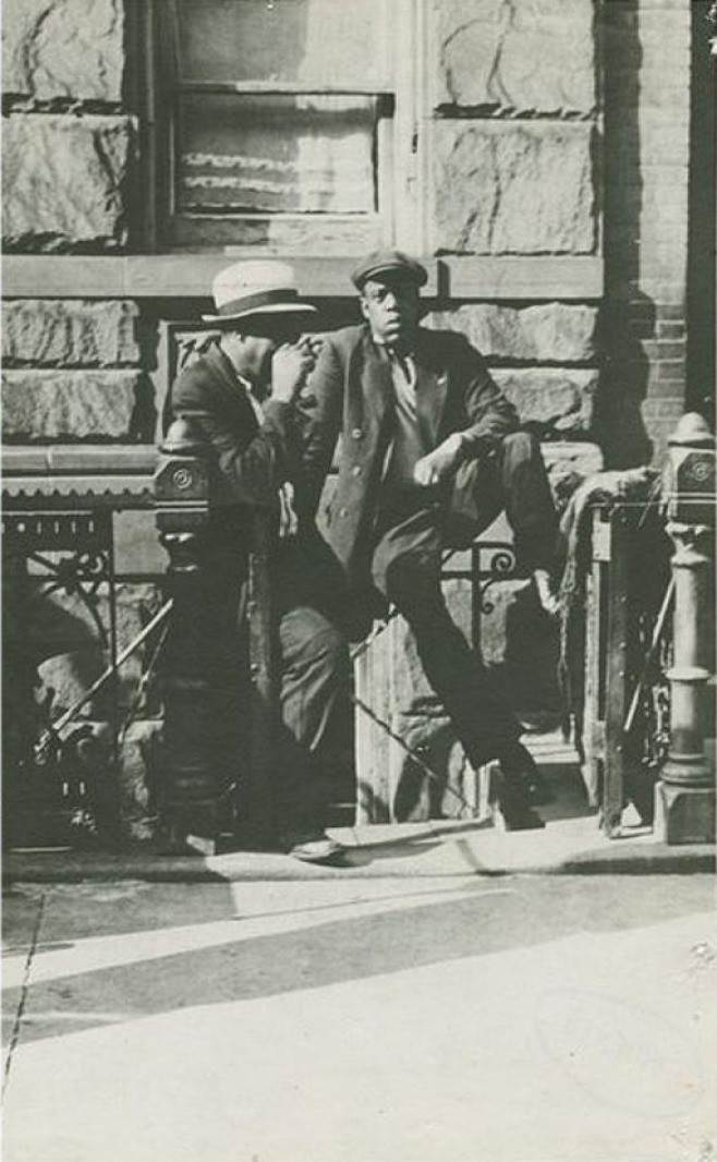 In Harlem, 1930, this man was photographed.