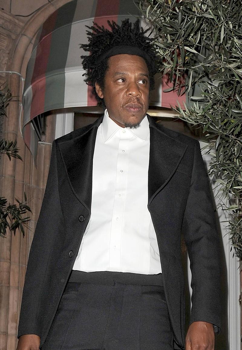 Jay-Z looks a lot like the men from Harlem.