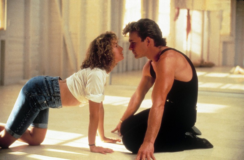 """In """"Dirty Dancing"""", Baby often wears jeans shorts, an invention and trend of the 80s."""