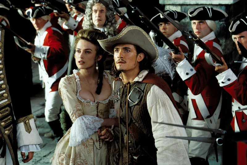 """The Royal Navy wears uniforms that weren't a thing when """"Pirates of the Caribbean"""" was set."""