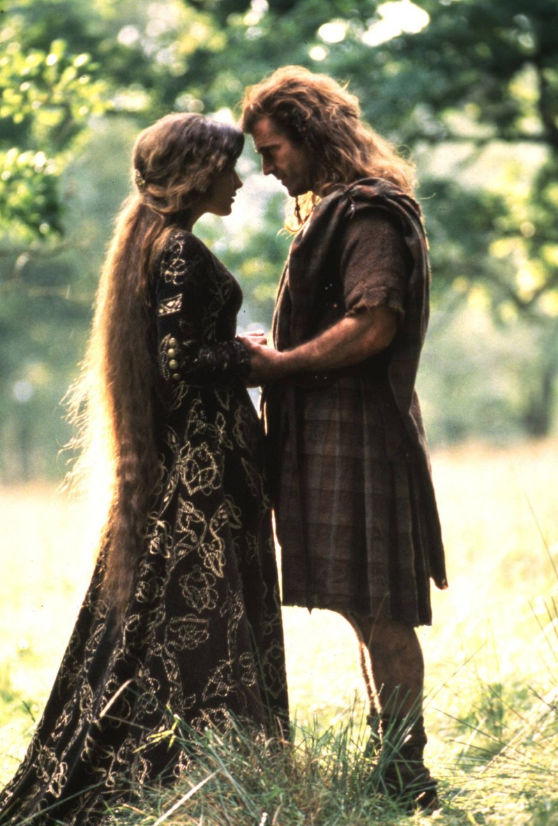 """William Wallace wears a kilt in """"Braveheart"""", which didn't exists back then."""